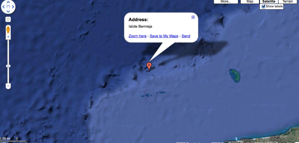 Bermeja island - Google Maps_1252260896431