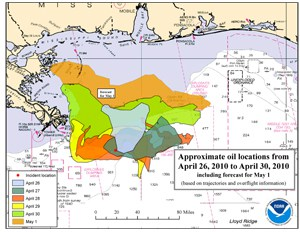 NOAA Releases Online Mapping Application for Deepwater Horizon BP Oil Spill