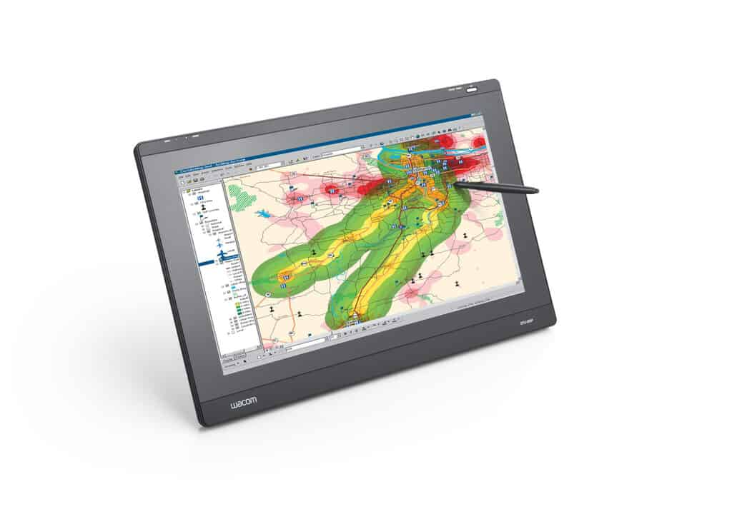 Pen Display Technology Adds Precision and Speed to USGS Volcanic Mapping