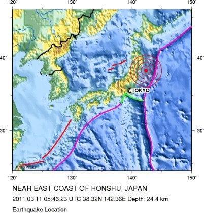 Sendai (Japan) Earthquake and Tsunami Mapping Response ~ GIS Lounge