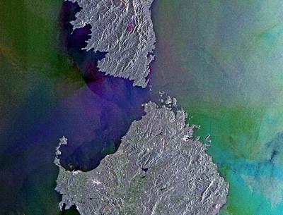 Strait of Bonifacio. Credits: ESA
