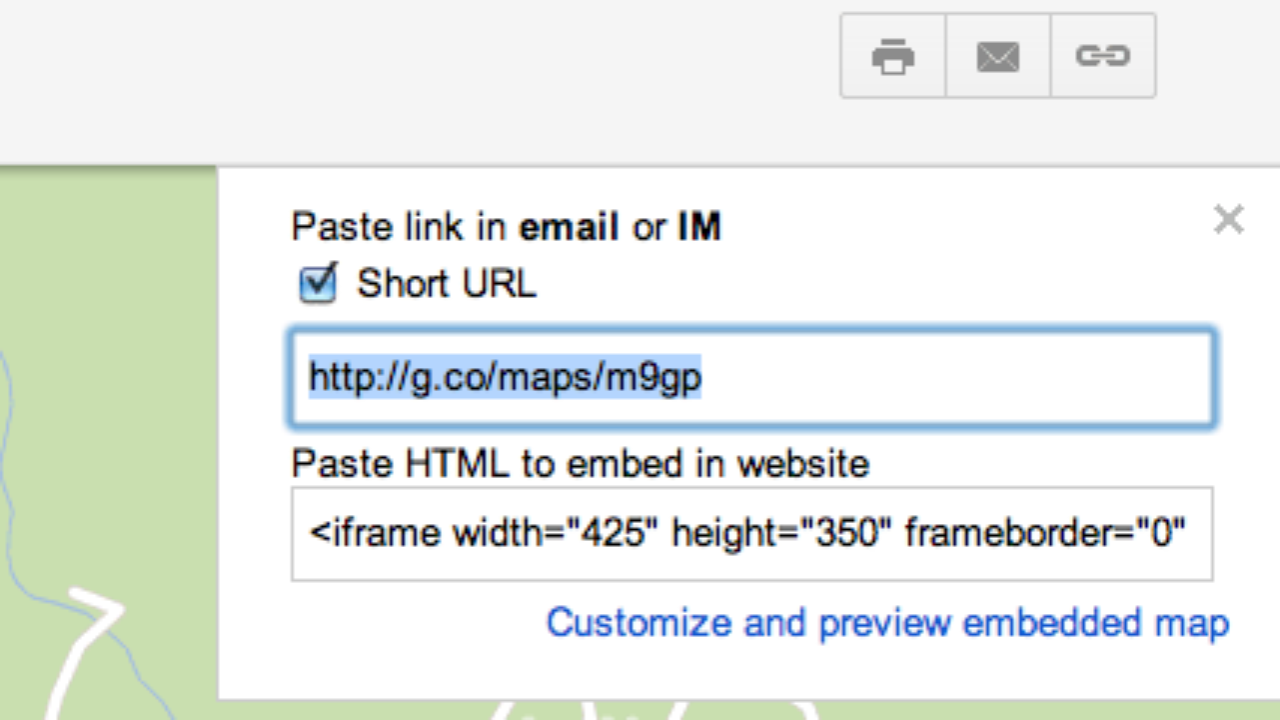 Google Maps: Short URLS and Voice Search ~ GIS Lounge on google plus link, google share link, google short list, google web link,
