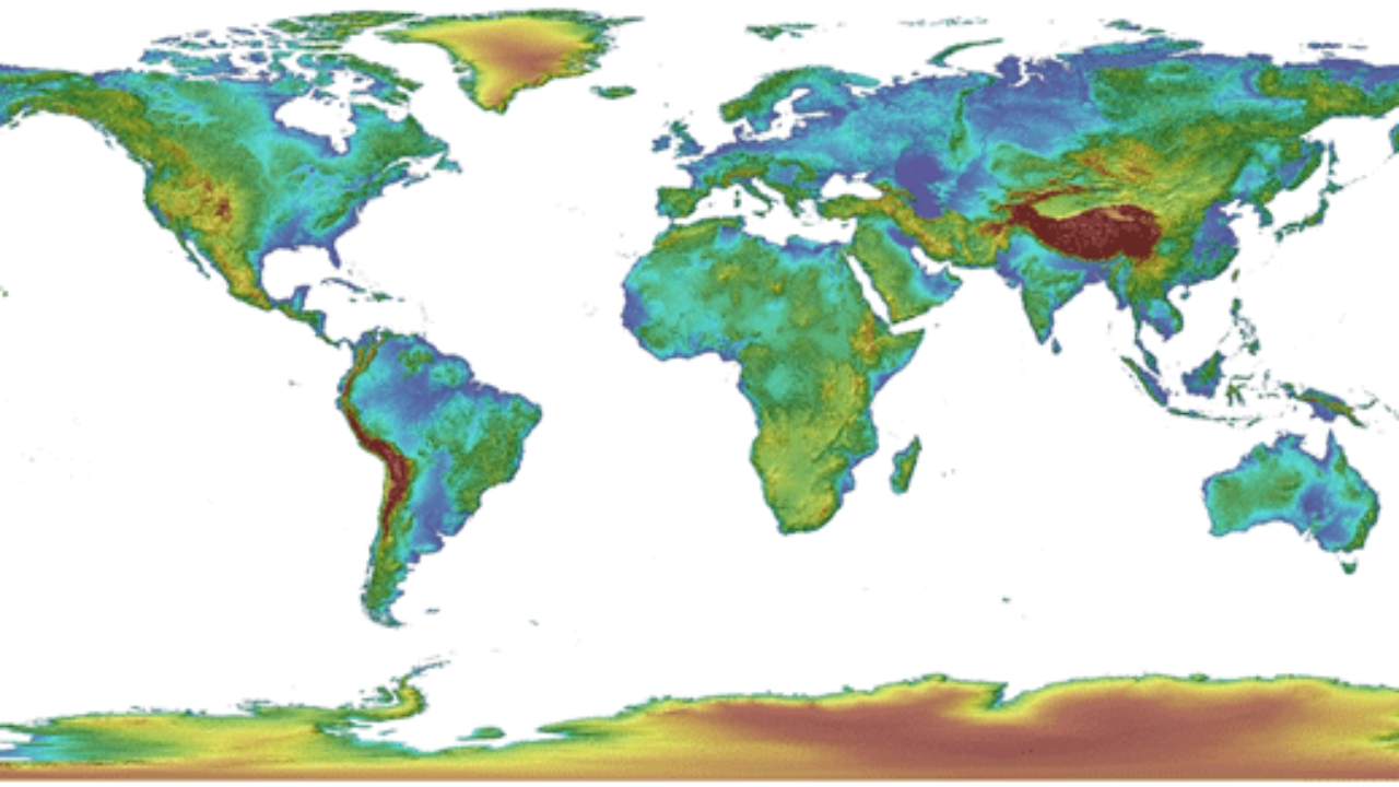 New Global Elevation Data Available to Download: Global Multi