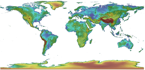 New Global Elevation Data Available To Download Global Multi