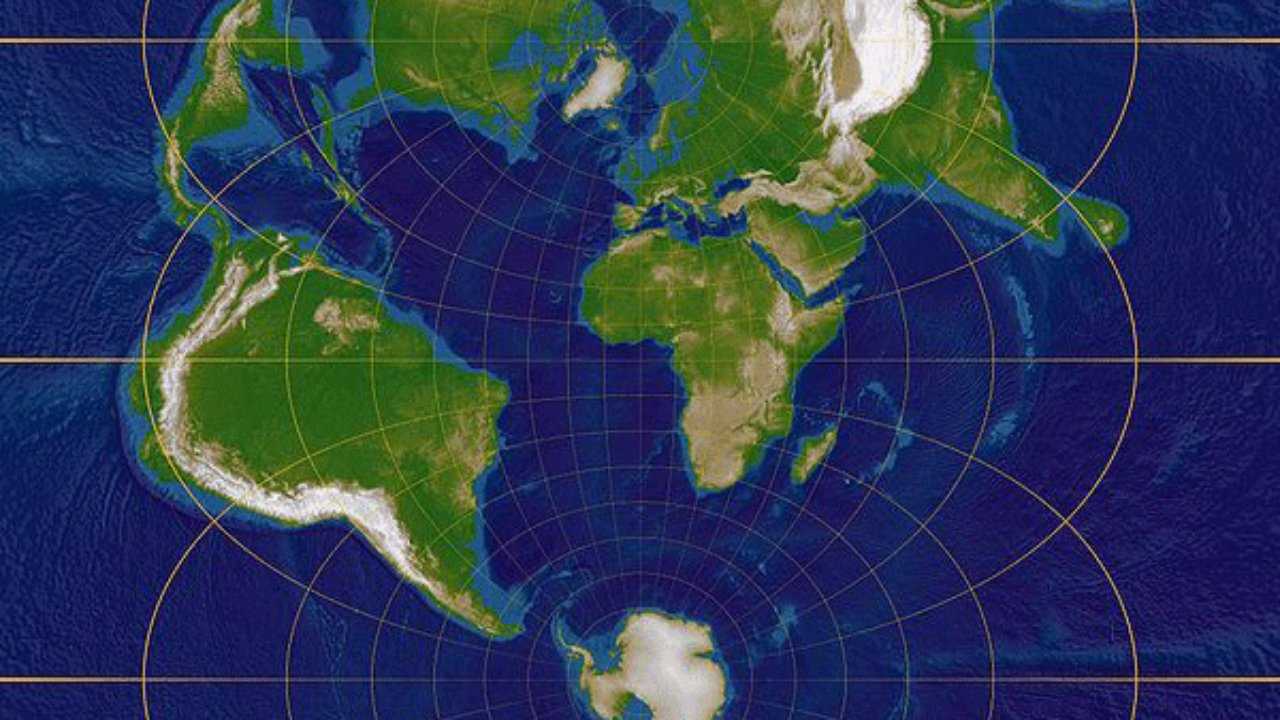 Common Map Projections ~ GIS Lounge