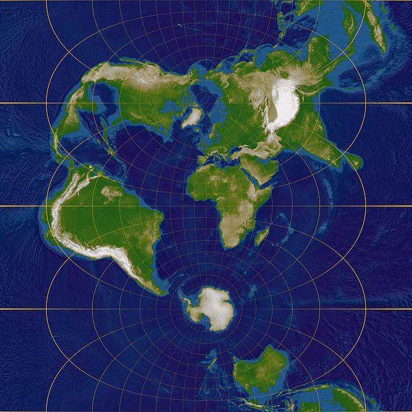 Common Map Projections Gis Lounge