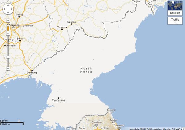 North Korea Mapping Oddities ~ GIS Lounge