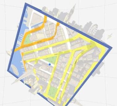 Game based on Google Maps.