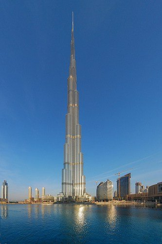 Burj Khalifa, Tallest Bulding in the World.