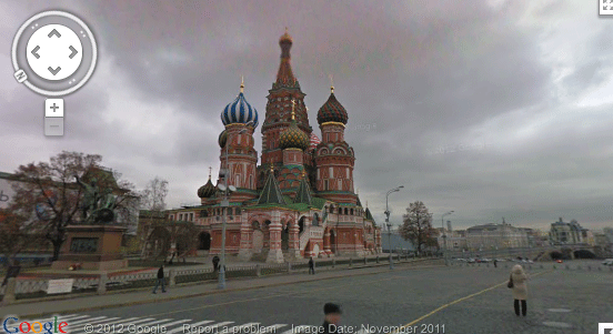 Street View in Russia