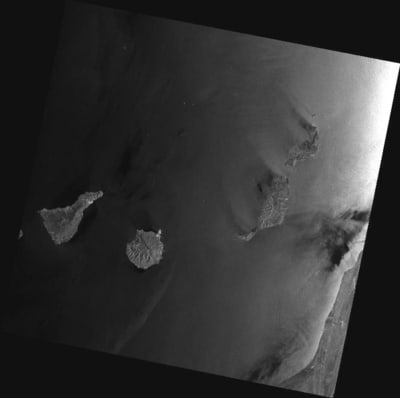 Spain's Canary Islands captured on April 8, 2012.  Credits: ESA/Edisoft.
