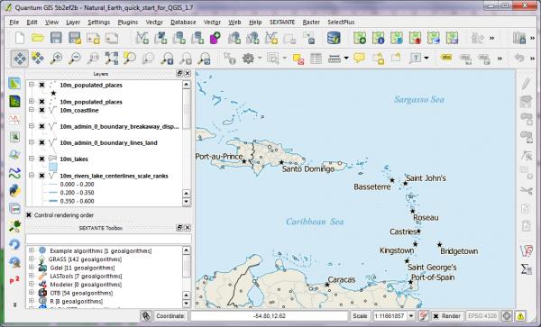 Quantum GIS Desktop.