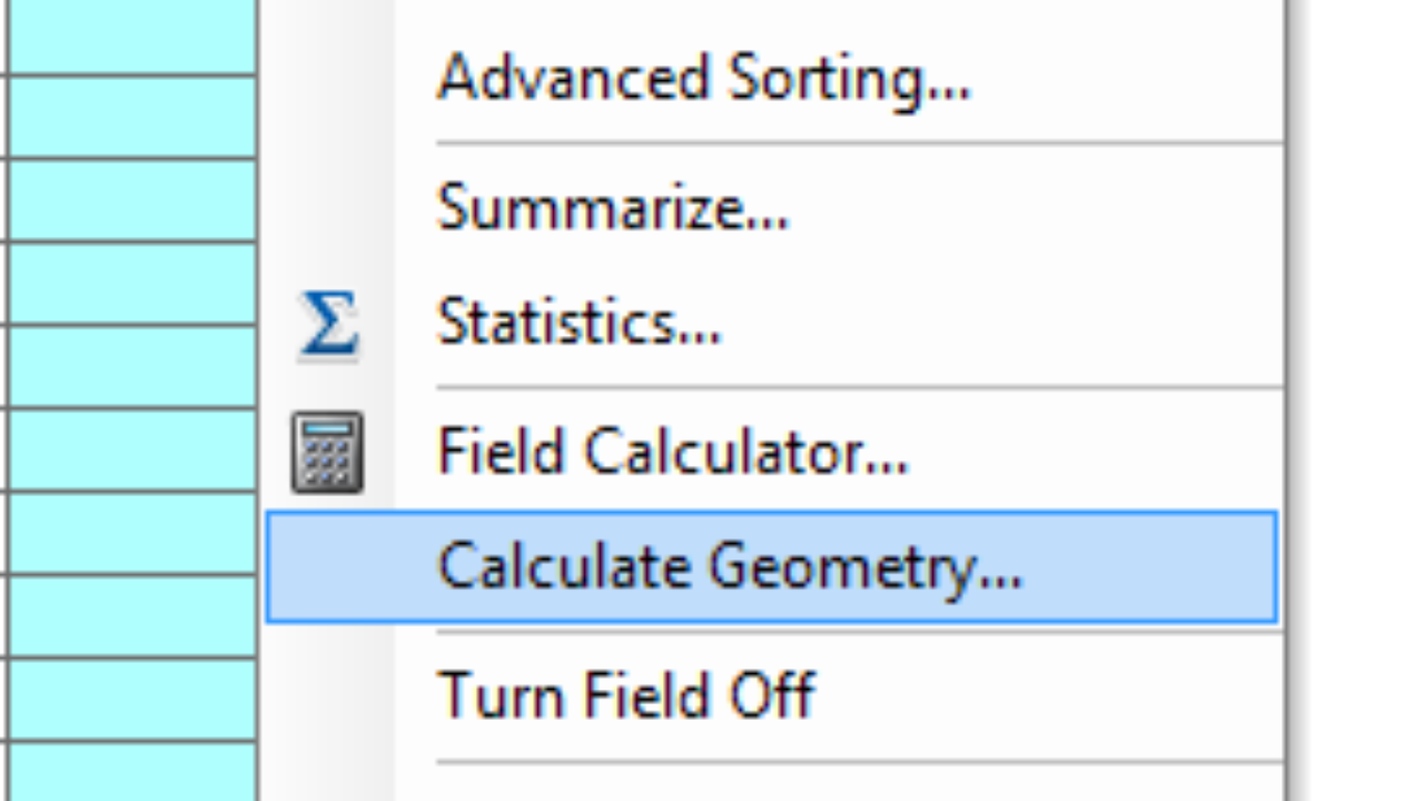 Calculating Polygon Area in ArcMap ~ GIS Lounge