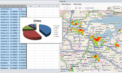MapCite's Excel Mapping Addin
