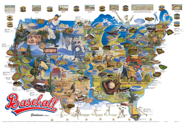 mlb teams map 100 images the only baseball map you ll ever need