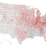 Post-Election Maps for the 2012 Presidential Election