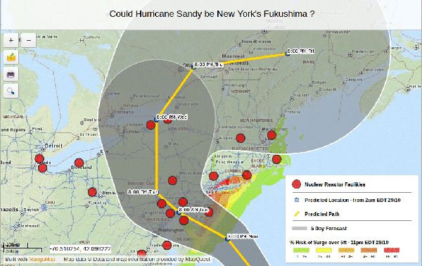 Hurricane Sandy Maps with Open Data and GIS Publication Platforms ...