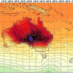 Geospatial Redux: Wartime Escape Maps, Map of Australian Heat Wave, OpenStreetMap Game