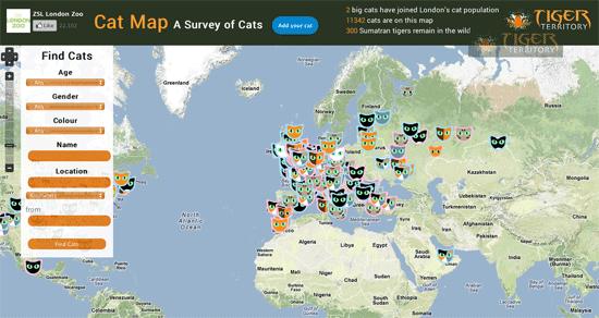 London Zoo's Cat Map Survey