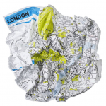 Crumpled Maps and Backward Globes