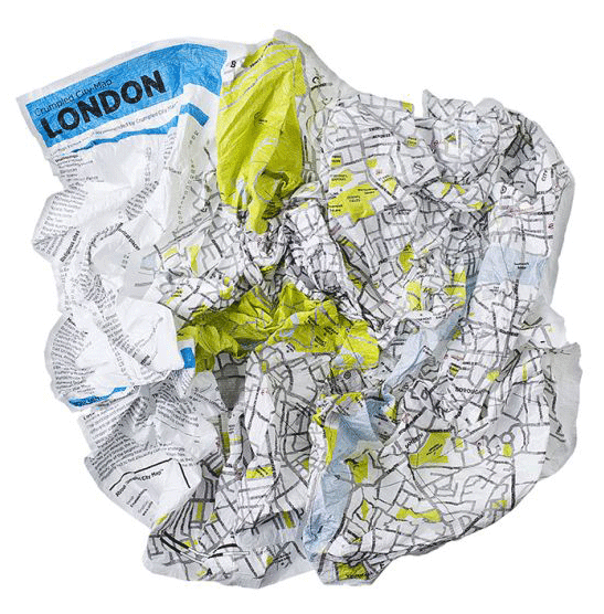 crumpled-london-map