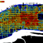 Predictive GIS model for the number of bike trips within a 24-hour period for New York City.