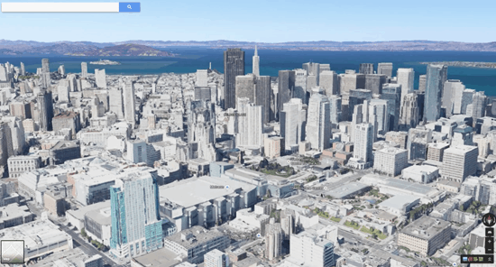 Google maps redesign gis lounge googles earthview integrates 3d imagery into google maps sciox Images