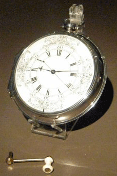 Harrison's H4 sea watch, created in 1761.