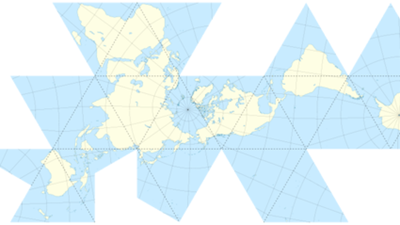 Dymaxion Map Projection ~ GIS Lounge