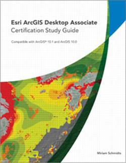 This study guide provides step-by-step exercises and practice questions to prepare students for the ArcGIS Desktop Associate certification exam.