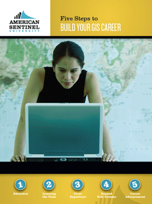 Free eBook: Five Steps to Build Your GIS Career