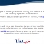 Alternatives to GIS Data During the U.S. Government Shutdown