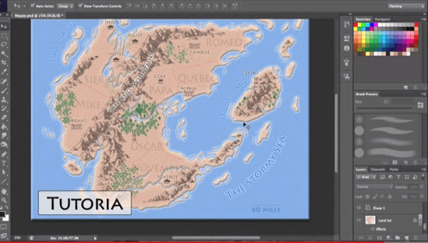 How To Create A Fictional World Map.How To Make Fantasy Maps Gis Lounge