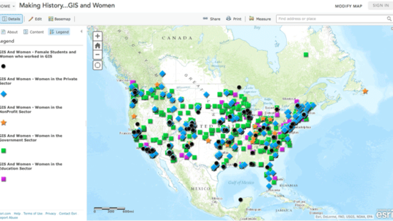 Crowdsourced Map of Women in GIS ~ GIS Lounge on louisa county va plat maps, geographic literacy maps, information systems, earth remote sensing, aerial photography, web maps, 5 types of thematic maps, engineering maps, shapefile maps, arcgis maps, enterprise resource planning, cartography maps, satellite maps, library maps, geographic coordinate system, science maps, geoportal maps, crime mapping, computer aided design, spatial analysis, wria maps, map projection, goo maps, linn county iowa flood maps, xml maps, geospatial maps, geography maps, global positioning system, data model, contour line,