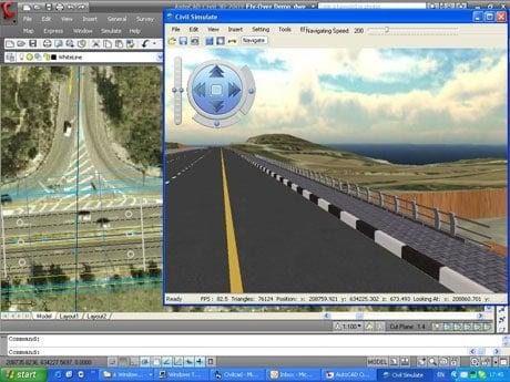 Sivan Design's Civil Simulate provides a 3D environment.