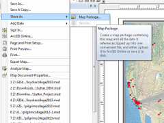 How to Share ArcMap (.mxd) Files