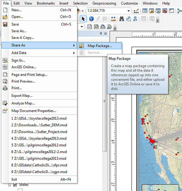 How to ArcMap d Files GIS Lounge