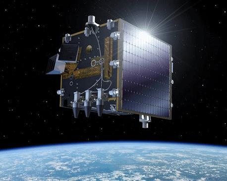 Artist rendering of the Proba-V satellite.  Credit: ESA–P. Carril, 2012.