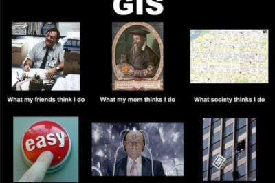 I'm a.... The GIS Profession in One Word