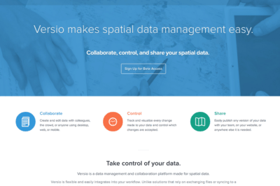 Versio: Moving the Spatial IT Industry Forward