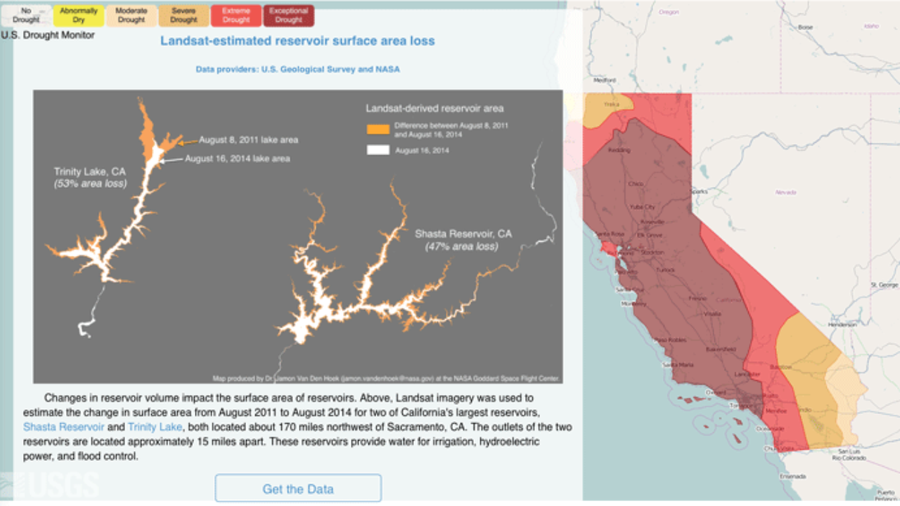 Mapping the California Drought with Open Data ~ GIS Lounge