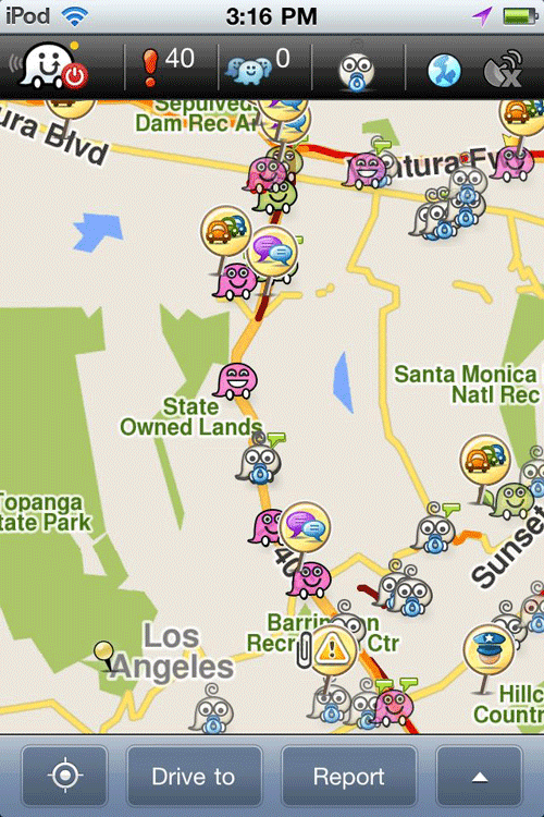 Can Waze S Crowdsourced Traffic Data Be Faked Gis Lounge