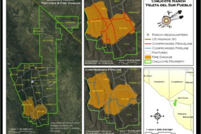 Wildfire management project of Ysleta del Sur Pueblo (Tigua Indian Reservation).