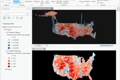 Creating an election map using ArcGIS Pro.