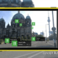 Nokia City Lens provides an augmented reality overlay view of buildings.