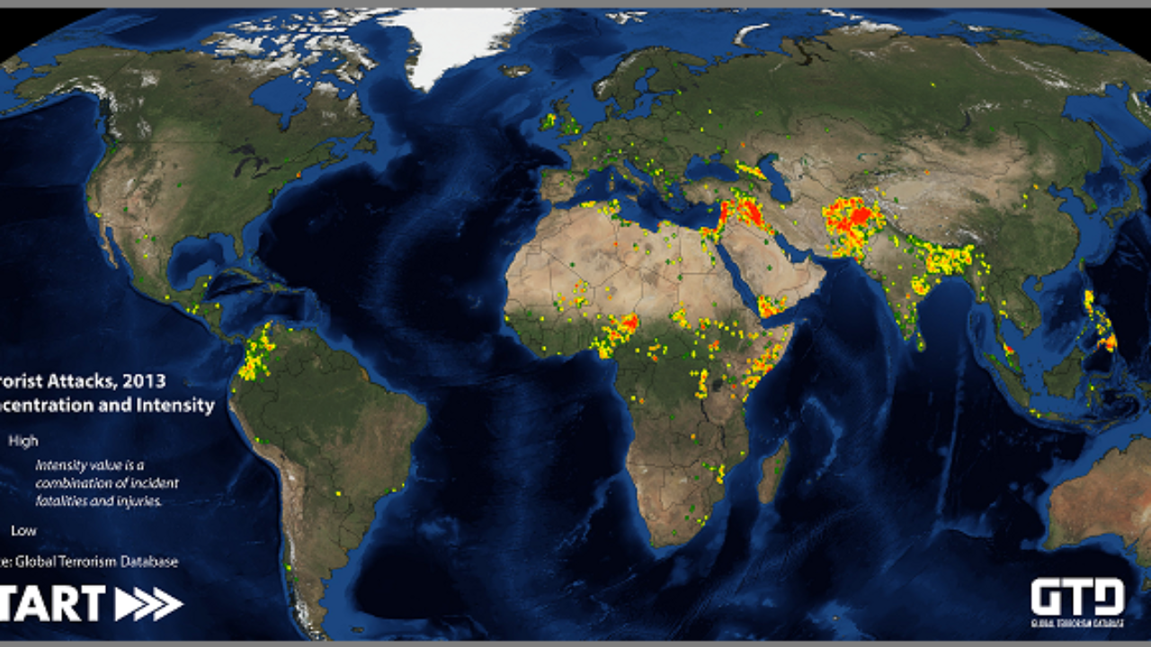 How GIS Supports the Fight Against Terrorism ~ GIS Lounge