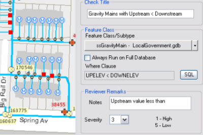 Data Reviewer helps validate your data. Image: Esri
