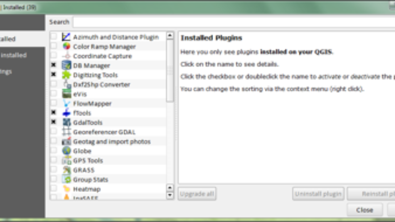 Adding Functionality with Plugins: Mastering QGIS ~ GIS Lounge