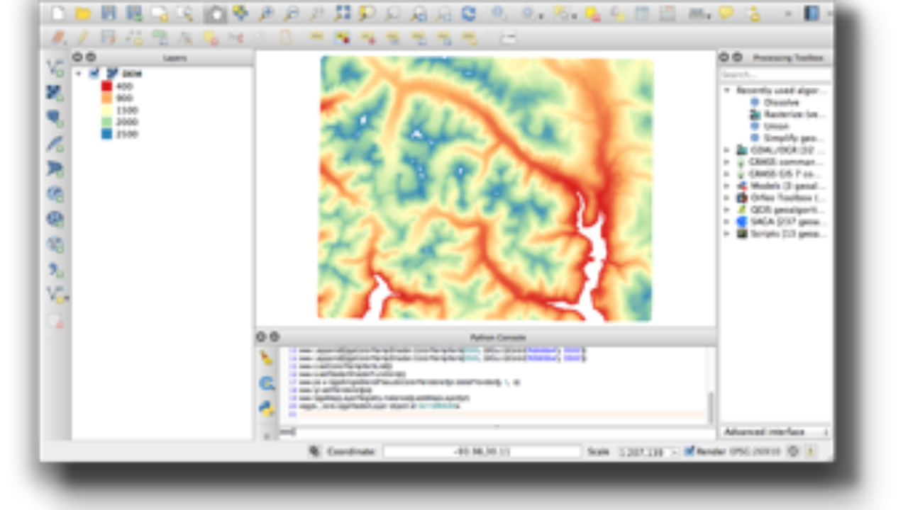 Symbolizing Vector and Raster Layers: QGIS Python Programming