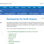 Free Earth Science and GIS Classroom Materials